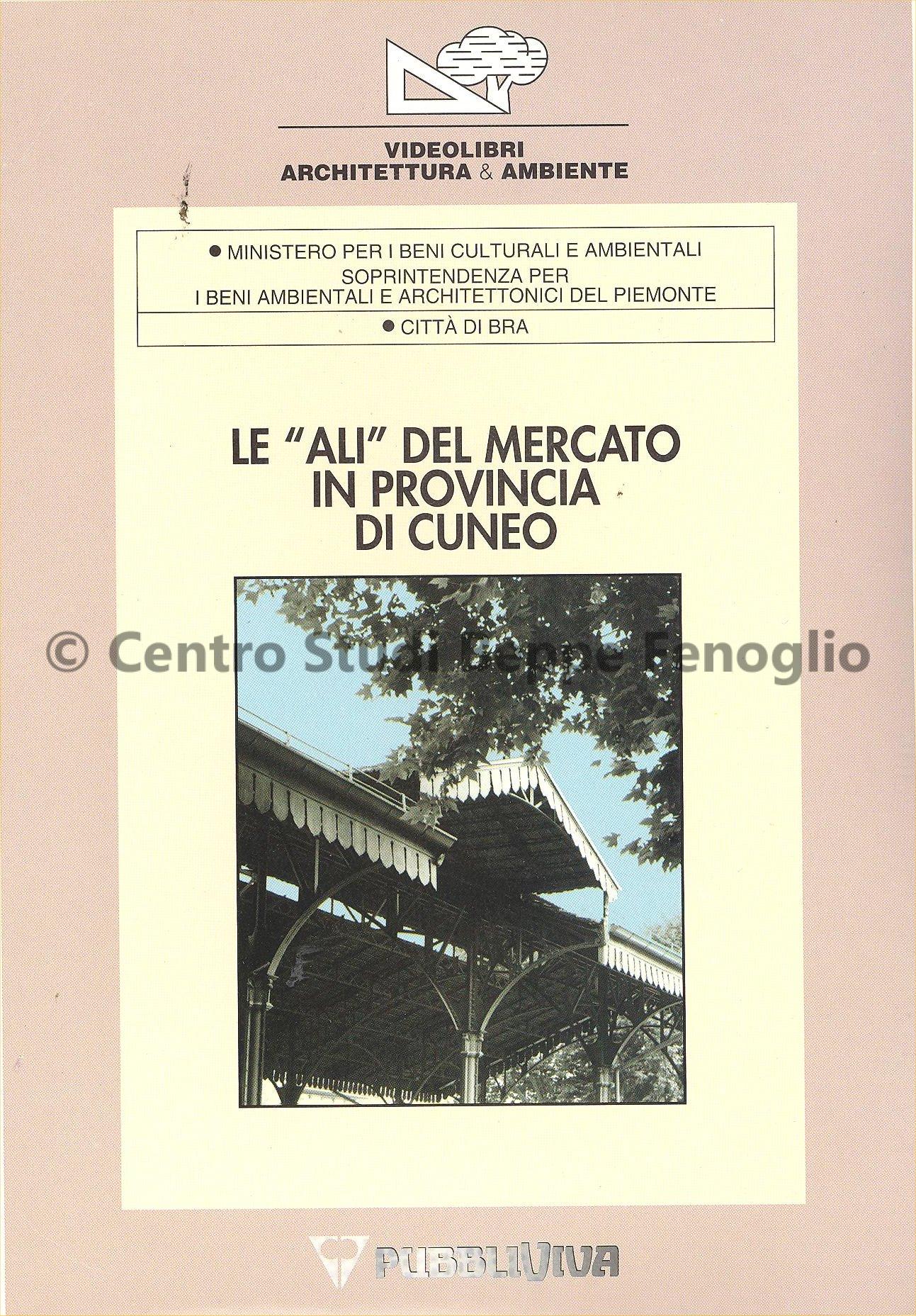 Studi Di Architettura Cuneo centro studi 'beppe fenoglio' - le ali del mercato in